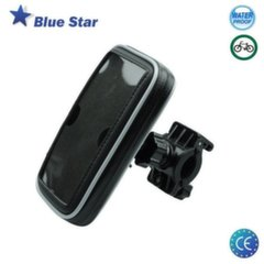 Mobiili hoidja Blue Star BS-BIKE3 Universal (15x5.5cm) Bike Holder veekindel IPX2 zipper Case (EU Blister)