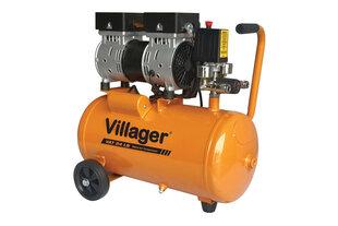 Vaikne õhukompressor Villager VAT 24 LS hind ja info   Kompressorid   kaup24.ee
