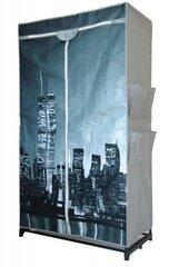 Tekstiilist riidekapp New York hind ja info | Kapid | kaup24.ee