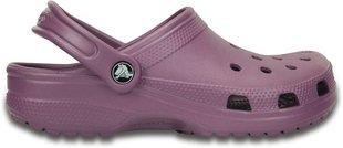 Naiste plätud Crocs™ Classic, lilla цена и информация   Crocs™ шлёпанцы, летняя обувь для женщин   kaup24.ee