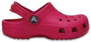Tüdrukute vabaajajalatsid Crocs™ Classic Clog, roosa