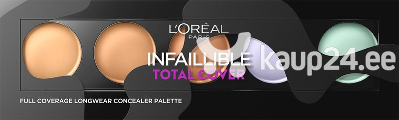 Peitepalett L'Oreal Paris Infaillible Total Cover 10 g