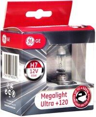"""GE H7 pirnid """"MEGALIGHT Ultra 120"""" 12V 55W"""