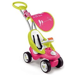 Laste sõiduauto-jalutuskäru Smoby Bubble Go, roosa