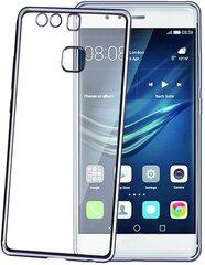 Kaitseümbris Celly LASER sobib Huawei Ascend P9, läbipaistev/sinine