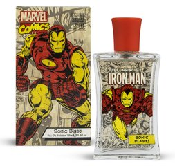 Tualettvesi Marvel Comics Iron Man Sonic Blast EDT poistele 75 ml
