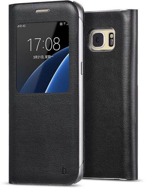 0b508a143b3 Klapiga ümbris HOCO Original series sobib Samsung Galaxy S7 (G930), must