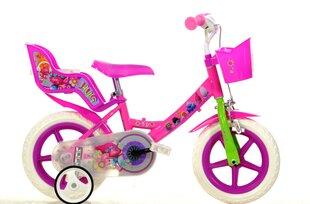 """Tüdrukute jalgratas Trolls Dino Bikes 12"""", 124RL-TRO"""