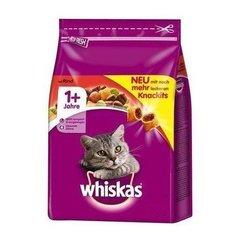 Kuivtoit kassidele WHISKAS veiselihaga, 1.4kg