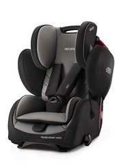 Turvatool Recaro Young Sport Hero, Carbon Black