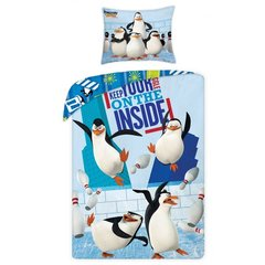 Laste voodipesukomplekt 2-osaline, The Penguins of Madagascar