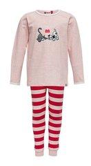 Tüdrukute pidžaama Lego Wear Naja 705, punane/roosa