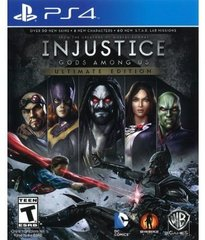 Mäng Injustice Gods Among Us Ultimate Edition, PS4