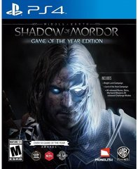 Mäng Middle-Earth: Shadow of Mordor GOTY, PS4