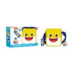 Komplekt lastele Nickelodeon Pinkfong Baby Shark: käekott + dušigeel 50 ml + EDT 50 ml hind ja info | Laste ja ema kosmeetika | kaup24.ee