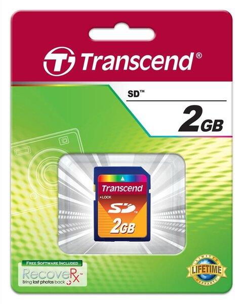 Mälukaart Transcend SD 2GB