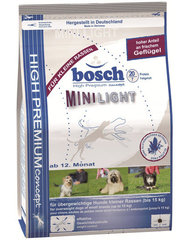 Kuivtoit koertele Bosch Mini light 1 kg