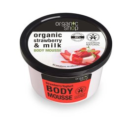 Kehavaht Organic Shop Strawberry Yoghurt 250 ml