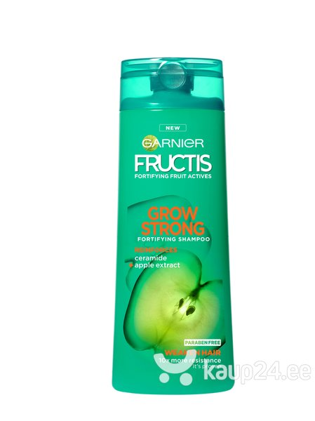Juukseid tugevdav šampoon Garnier Fructis Grow Strong 250 ml