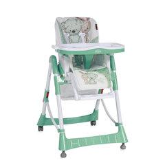 Laste söögitool Lorelli Primo, roheline/valge