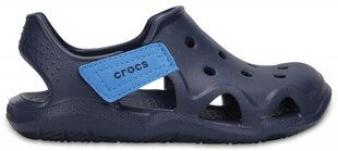 Laste kotad Crocs™ Swiftwater Wave​, tumesinine