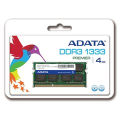 A-Data Premier 2GB 1333MHz DDR3 SO-DIMM AD3S1333C2G9-R