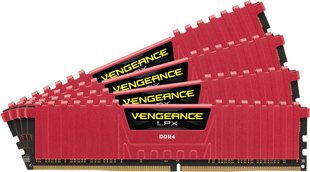 Corsair Vengeance LPX 32GB 3000MHz DDR4 C15 DIMM KIT OF 4 CMK32GX4M4C3000C15R