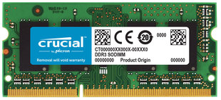 Crucial 4GB PC3-10600 1333MHz DDR3 SO-DIMM CL9 CT4G3S1339MCEU