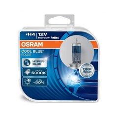 Автомобильные огни Osram Cool Blue Boost H4 100/90W 12V P43T, 2 шт.