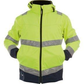 Рабочая куртка MALAGA HI-VIZ Softshell