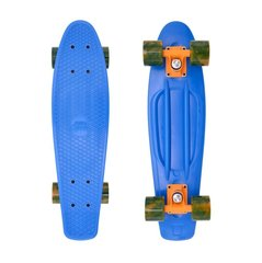 Rula Pennyboard Street Surfing Beach Board, Ocean Breeze Blue