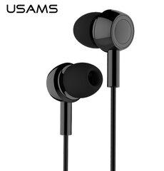 Kõrvaklapid Usams Fashion EP-12, Must