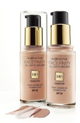 Jumestuskreem Face Finity All Day Flawless 3in1 Max Factor 30 ml hind ja info | Jumestuskreemid, puudrid | kaup24.ee