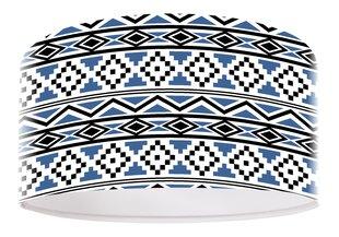 Laelamp Blue pattern