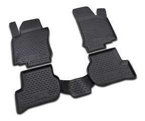 Kummimatid 3D VW Golf VI 2009-2012, 4 pcs. /L65024