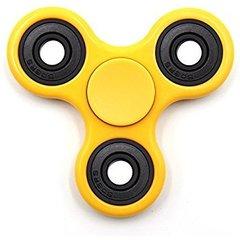 Näpuvurr Fidget Spinner, kollane