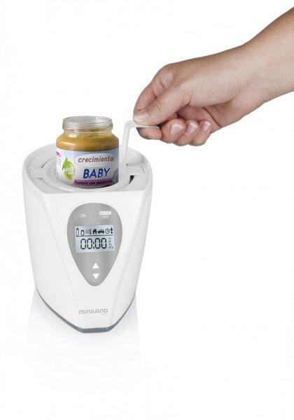 Elektriline soojendaja-sterilisaator Miniland Warmy Advanced Silver