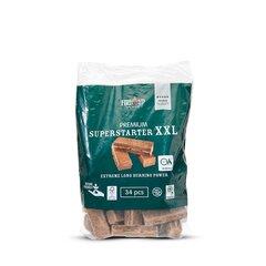 Ökoloogilised süütetabletid Superstarter XXL, 34 tk