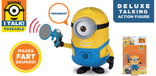 Figuur Minions Despicable Me Deluxe Talking, 20280