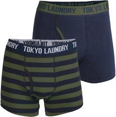 Meeste aluspesu Toyko Laundry, 2tk, khaki/sinine II