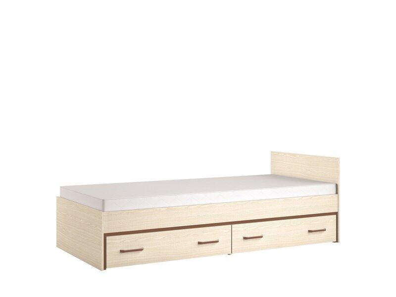 Кровать Bonti 15, коричневый
