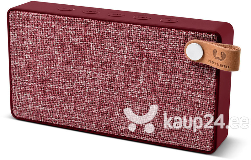 Kõlar Freshn Rebel Rockbox Slice Fabriq Edition, Ruby