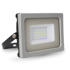 20W LED Prožektor V-TAC (SMD LED), (4500K) päevavalgus, must/hall