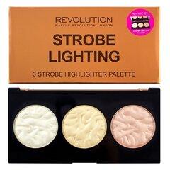 Valgustpeegeldavate puudrite palett Makeup Revolution London Strobe Lighting 11.5 g