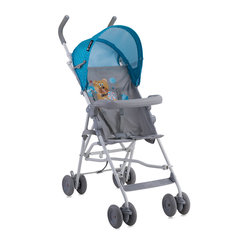 Jalutuskäru Lorelli Light blue grey hello bear