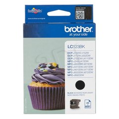 Brother LC123BK, Black Ink Cartridge 600 pages hind ja info | Brother LC123BK, Black Ink Cartridge 600 pages | kaup24.ee