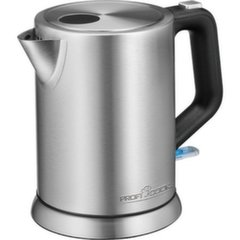 ProfiCook Kettle PC-WKS 1106 Electrical, Stainless steel, 1850 - 2200 W, 1 L, 360° rotational base