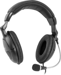 DEFENDER Headset for PC Orpheus HN-898 black cable 3 m
