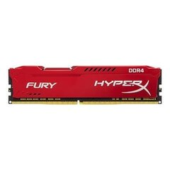 KINGSTON 16GB 2400MHz DDR4 CL15 DIMM HyperX FURY Red