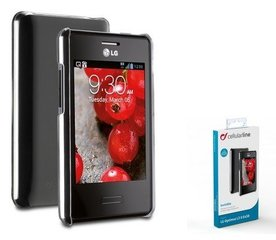 LG L3 II cover INVISIBLE by Cellular tr.